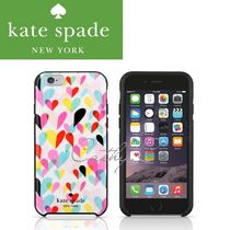 kate spade*ハート*Confetti Heart *ハードシェル*iPhone6+/6s+