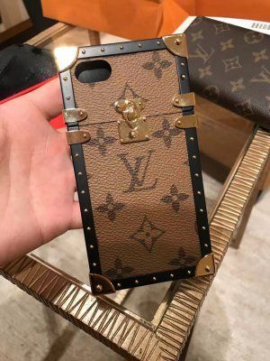 在庫処分即発★LOUIS VUITTON★iphone7 EYE TRUNK phone cover