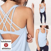 lululemon☆Free To Be Serene 2 in 1 Tankブラ付きタンクbreeze