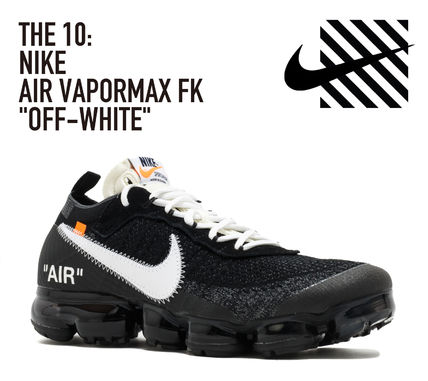 """THE 10: NIKE AIR VAPORMAX FK """"OFF-WHITE"""" ナイキ ヴェイパー"""