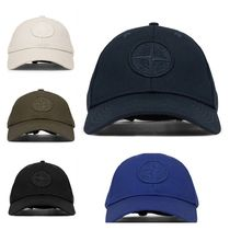 セレブ愛用!!Stone Island LOGO EMBROIDERED BASEBALL HAT