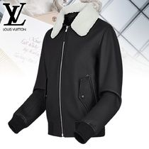 【直営店買付】Louis Vuitton BOMBER EN CUIR ジャンパー