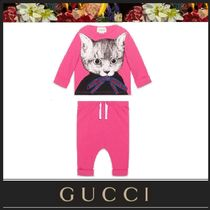 【GUCCI】キャットプリントジャージーセット