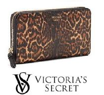 Victoria's Secret Forever Leopard Zip Wallet ジップ 長財布