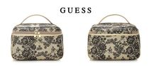 Guess(ゲス) メイクポーチ 【Guess】VAHINE NATURE PRINT VANITY CASE