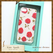 SALE! 【kate spade】可愛いローズ柄 iPhone7/6/6S/8ケース