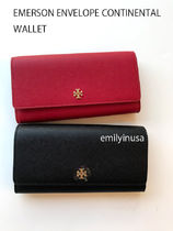 即発 TORY BURCH★EMERSON ENVELOPE CONTINENTAL 長財布 46187