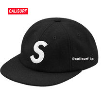 大人気★Supreme(シュプリーム)S-LOGO WOOL CAP/BLACK