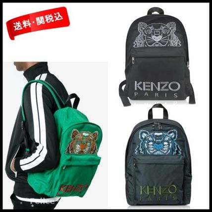 18SS【KENZO】Large Tiger Canvas Backpack 関税/送料込