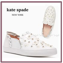 Kate spade new york☆ジュエルのお花が可愛い☆louise sneakers