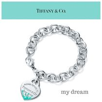 RETURN TO TIFFANY♡Color Splash Heart Tag Bracelet