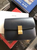 【CELINE】Classic Box Medium ショルダーバッグ(Navy Blue)