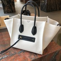 【CELINE】18SS新作 Luggage Phantom (White/ Mサイズ)