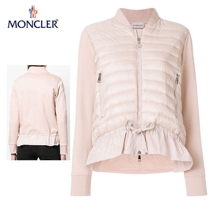 MONCLER カーディガン 【正規品保証】MONCLER★18春夏★CLASSY PUFFER JACKET_ピンク
