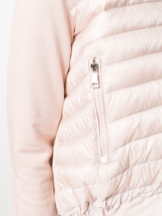 MONCLER カーディガン 【正規品保証】MONCLER★18春夏★CLASSY PUFFER JACKET_ピンク(4)