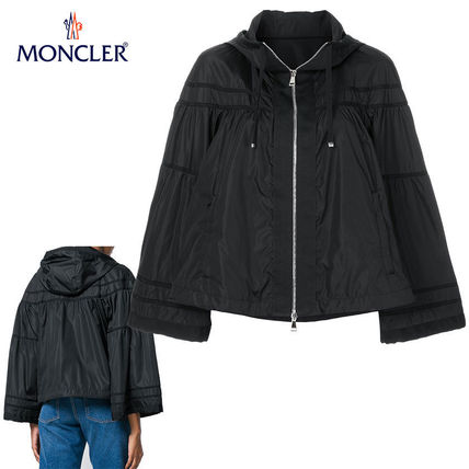 MONCLER アウターその他 【正規品保証】MONCLER★18春夏★HOODED JACKET_ブラック