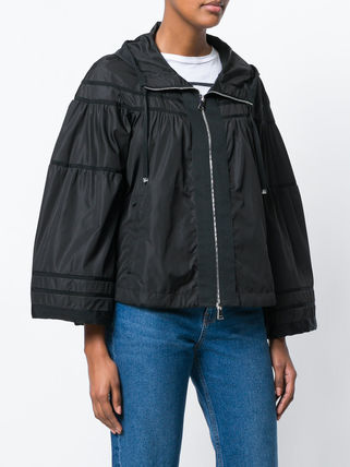 MONCLER アウターその他 【正規品保証】MONCLER★18春夏★HOODED JACKET_ブラック(2)