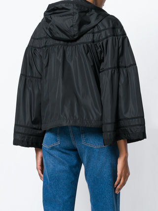 MONCLER アウターその他 【正規品保証】MONCLER★18春夏★HOODED JACKET_ブラック(3)