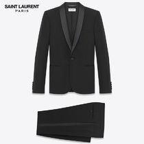 【正規品保証】SAINT LAURENT★18春夏★SMOKING SUIT_BLACK