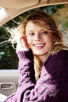 Free People☆Destroyed Cable Pullover