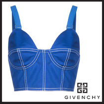 GIVENCHY  bustier-style bra(ジバンシー ブラトップ ブルー )