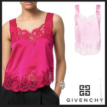 GIVENCHY  lace-embroidered top(レーストリム トップ 袖なし)