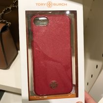 Tory Burch Hardshell case for iPhone7/8レザーケース★レッド