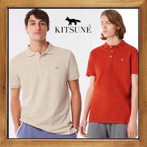 ★★MAISON KITSUNE《 FOX HEAD EMBROIDERY POLO》 送料込み★★