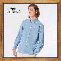 ★MAISON KITSUNE《FOX HEAD EMBROIDERY SHIRT》 送料込み★