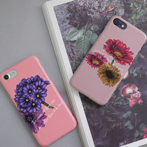 フォトジェニック★flower letterringケース iphone galaxy