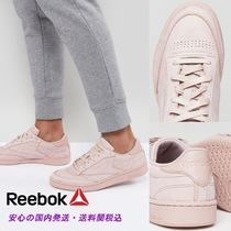 Reebok☆ Club C 85 RS Trainers In Pink♪