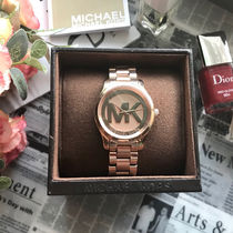 【SALE☆人気】Michael Kors Mini Runway Rose Gold watch