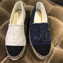 2018 WE ARE BACK★★CHANEL オリジナル★Espadrilles in denim