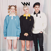 ★WV PROJECT★ Card sweatshirts (SYMT7144)