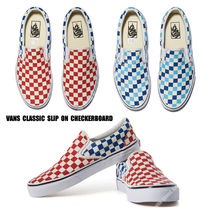 VANS★CLASSIC SLIP ON CHECKERBOARD★チェック柄★兼用★2色