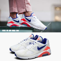NIKE★W AIR MAX 180★白×ULTRAMARINE×SOLAR RED×黒