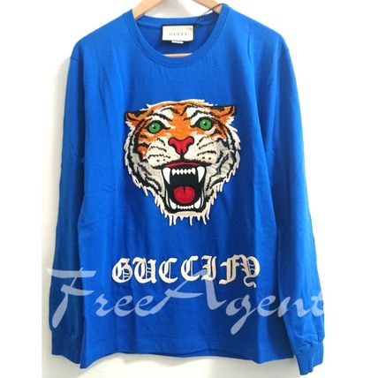 "GUCCI Tシャツ・カットソー 国内発送 タイガー&""Guccify"" ロンT GUCCI(グッチ)日本未入荷(5)"