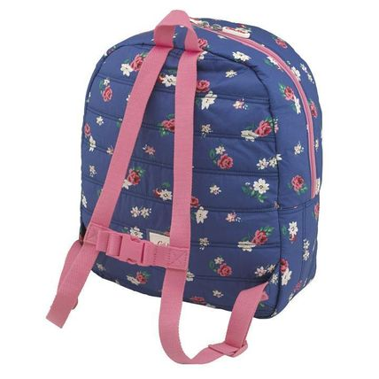 Cath Kidston 子供用リュック・バックパック Cath Kidston★KIDS QUILTED LARGE RUCKSACK W/CHEST STRAP(2)