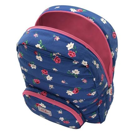 Cath Kidston 子供用リュック・バックパック Cath Kidston★KIDS QUILTED LARGE RUCKSACK W/CHEST STRAP(3)