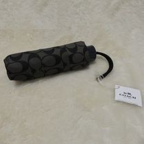 COACH コーチ 折りたたみ傘 MIN umbrella F63365 blackgray
