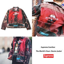 Supreme Scarface World Is Yours Denim Jacket 17AW 送料込み
