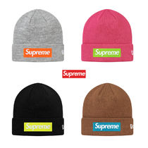 国内即配送 Supreme New Era Box Logo Beanie Knit Cap 送料込 fb876165d19b