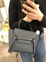 18SS新作NEWサイズ【CELINE】Belt Bag Nono (Slate)