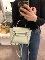 18SS新作NEWサイズ【CELINE】Belt Bag Nono (Pastel Green)