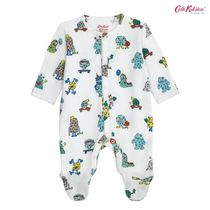 Cath Kidston  BABY SLEEPSUIT MINI MONSTERS PUTTY(0~12M)