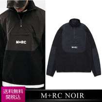送関込 M+RC Noir MID-ZIPPER SWEATER プルオーバー