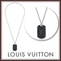 Louis Vuitton 国内発 コリエ・プラーク モノグラム・エクリプス