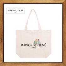 ★★MAISON KITSUNE  LOVE BIRDS TOTE BAG   送料込み★★