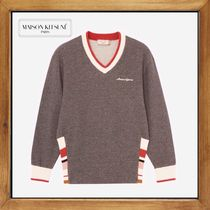★★★MAISON KITSUNE《SWEATSHIRT STRIPED RIB》送料込み★★★