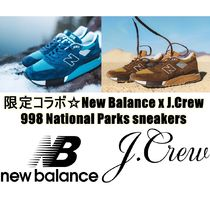 レア限定 New Balance x J.Crew 998 National Parks スニーカー